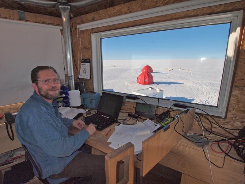 Field leader Anders Svensson<br /> <br /> Photo: Kenji Kawamura