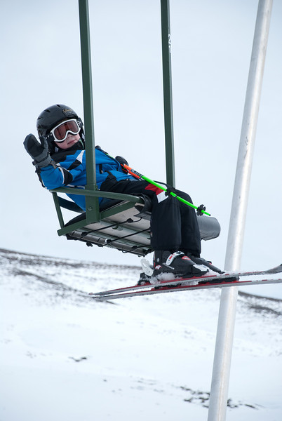 Lars skiing in Sun Valley