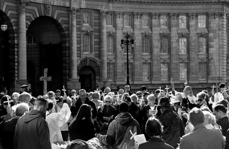 Easter thing (maybe the Sunday before easter?) on the Mall in London.
