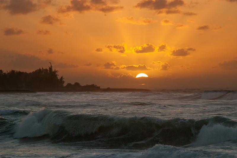 Oahu North Shore sunset