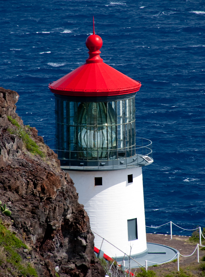 Oahu lighthouse (Makapu'u)