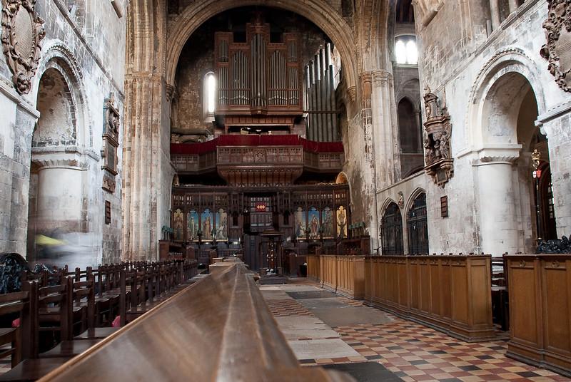 St Barthalemew's Church in London.