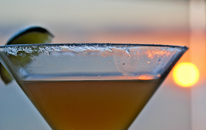 Sidecar + Sunset.  Case closed.