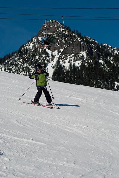 G skiing (last year)