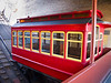 Duquesne Incline car in lower station