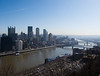 View of downtown Pittsburgh from South Side