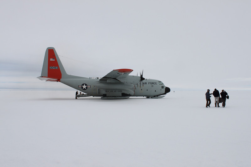 US air force Hercules plane are hired for the transport