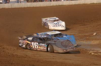 16 Paul Davis, 9 Mark Frazier and 99 Donnie Moran