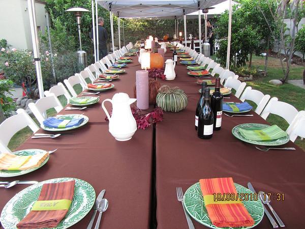 PreThanksgiving Dinner 2010