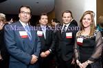 Jose Alberto Morales, Rodolfo Medrano,  Honoree Steve Wanta, Vanina Carmona