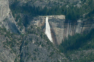 Nevada Fall seen in the distance.