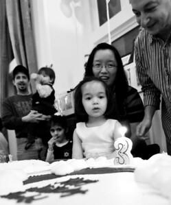 Rachel 3rd Birthday Party