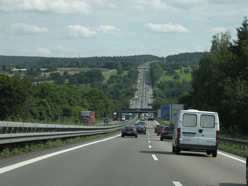 We set out at 2pm - the Autobahn was stau free! yay! :)