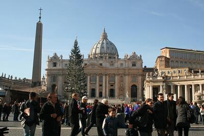 Rome, Italy - SDCS Choir 12/10