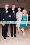 NEW YORK-MARCH 1: Peter Martins, Nicolas Luchsinger,  Darci Kistler, Talicia Martins attend The School of American Ballet's 2010 Winter Ball on Monday, March 1, 2010 at David H. Koch Theater, Lincoln Center, New York City, NY. (PHOTO CREDIT:  ©Manhattan Society.com 2010 by Christopher London)