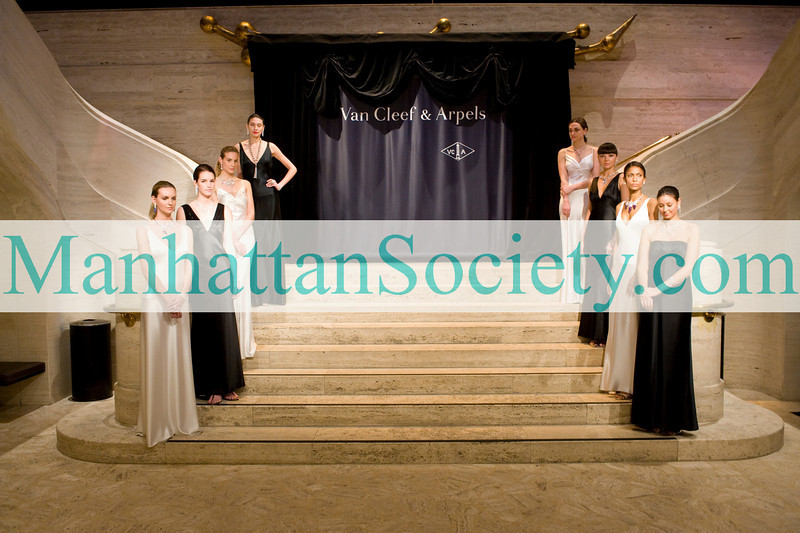 NEW YORK-MARCH 1:Van Cleef & Arpels Models at  The School of American Ballet's 2010 Winter Ball on Monday, March 1, 2010 at David H. Koch Theater, Lincoln Center, New York City, NY. (PHOTO CREDIT:  ©Manhattan Society.com 2010 by Christopher London)