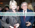 Martha Stewart and 2010 Sing for Hope Honoree Tony Bennett