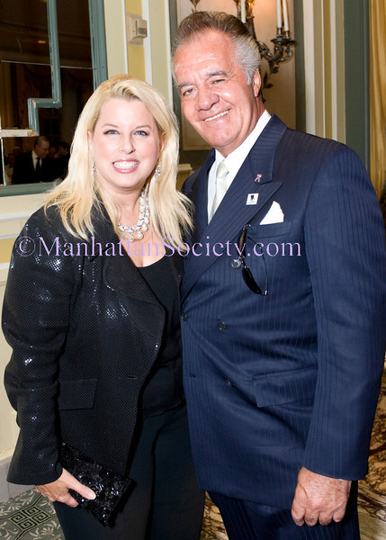 NEW YORK-OCTOBER 1: Rita Cosby, Tony Sirico attend The Soldiers', Sailors', Marines', Coast Guard and Airmen's Club (SSMAC)14th Annual Military Ball saluting the United States Army on Friday, October 1, 2010 at The Pierre Hotel, Fifth Avenue at 61st Street, New York City, NY (PHOTO CREDIT: ©Manhattan Society.com 2010 by Christopher London)