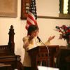 Commencement Speaker Sr. Maria Lopez, PBVM addresses students in Calvary Presbyterian Church during Nora Cronin Presentation Academy's first graduation on Saturday, June 12, 2010 in Newburgh, NY. Hudson Valley Press/CHUCK STEWART, JR.