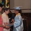 Students are presented awards during Nora Cronin Presentation Academy's first graduation on Saturday, June 12, 2010 at Calvary Presbyterian Church in Newburgh, NY. Hudson Valley Press/CHUCK STEWART, JR.