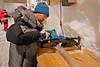 Cutting the ice<br /> <br /> Photo: Kenji Kawamura