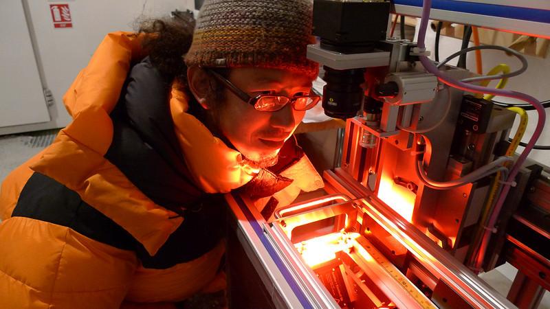 Optical scanner<br /> <br /> Photo: Sepp Kipfstuhl