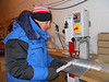 Cutting the ice<br /> <br /> Photo: Angelika Dummermuth