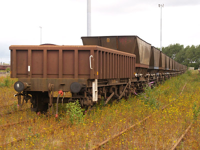 Millerhill Stored Wagons.