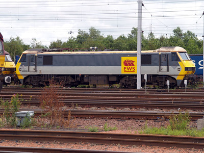 90036 sits on Mossend sidings.