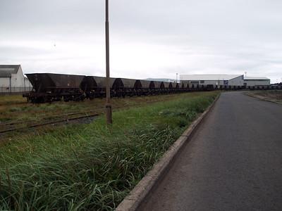 Ayr Harbour scrap HAA's awaiting their fate.