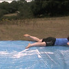 By request . a selection of clips of our QM and chef on the waterslide.