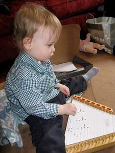 Charlie uses music