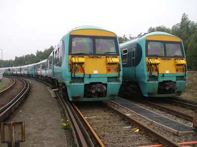 456005 and 456002 at Selhurst