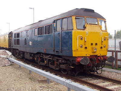 31106 on a test train at Selhurst