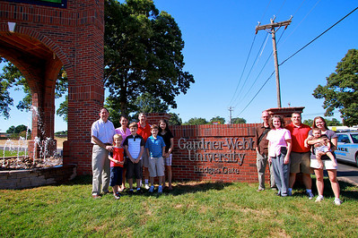 Bridges Gate Opening with the Bridges Family; September 2010.