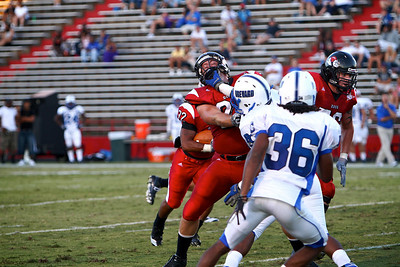 GWU Football vs Brevard; September 04, 2010.
