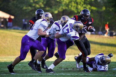 Football vs. Western Carolina; September 18, 2010.