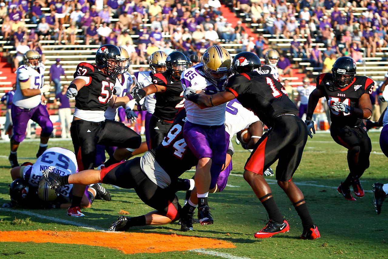 Football vs. Western Carolina; September 18, 2010.
