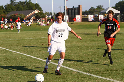 Men's Soccer v Davidson; September 18, 2010.
