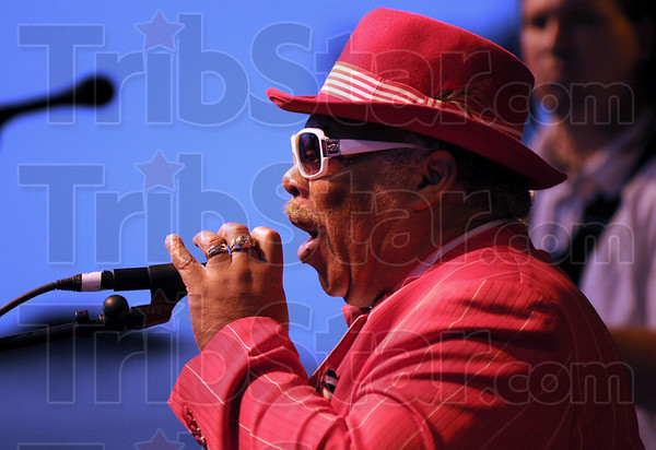 Mississippi: Mississippi Morris opens the annual Bluesfest in downtown Terre Haute Friday evening.