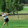 Action: Northview's Hayley Miller hits a shot during sectional play Saturday morning.