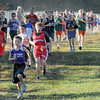 Open: Scores of Middle School runners participated in the Open Class event at Shakamak High School Saturday morning.
