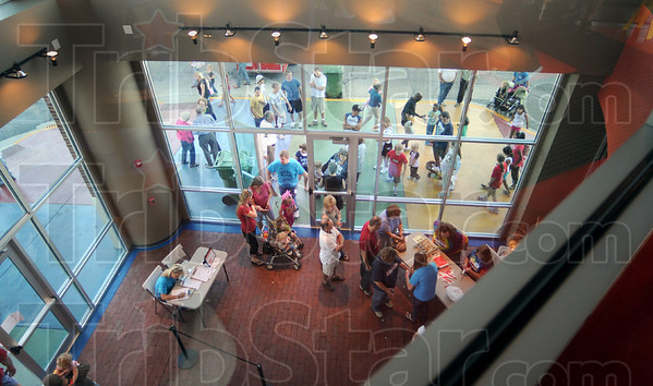 Busy place: The Terre Haute Children's Museum held an open house event Saturday, attracting thousands.