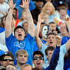 Touchdown: Sycamore fans cheer the third ISU touchdown.