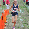 Top girl: Chanli Mundy outdistanced the rest of her competitors in winning the county cross country race Wednesday afternoon on West Vigo's new course.