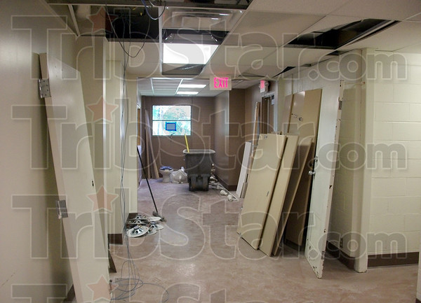 Before: Submitted photo of the Health and Wellness Clinic prior to its completion.