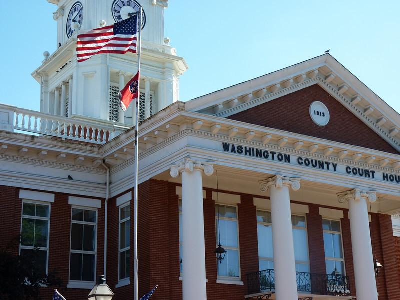 Washington County Courthouse - downtown Jonesborough, TN