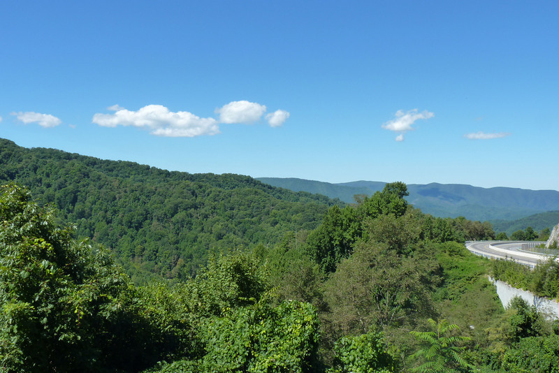View from I-26, near the TN-NC state line