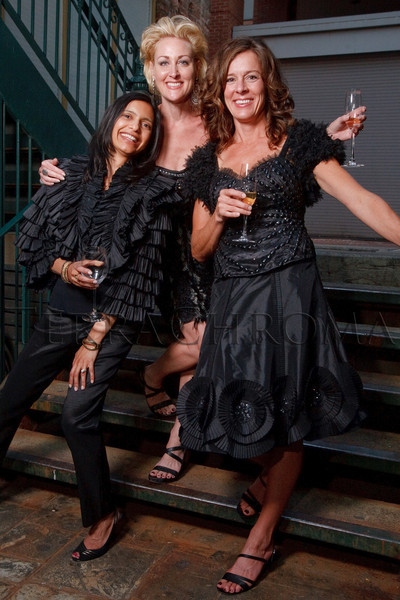 (Denver, Colorado, Sept. 2, 2010)<br /> Bijal Choksi, Tina Lovelace, and Dianne DeLongchamps in clothing from Mariel.  Last Chance to Wear White party, hosted by the Marquee Club, at Crú wine bar in Denver, Colorado, on Thursday, Sept. 2, 2010.<br /> STEVE PETERSON