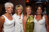 (Denver, Colorado, Sept. 2, 2010)<br /> Lois Paul, Denise Snyder, Anne McFarland, and Cindy Kent.  Last Chance to Wear White party, hosted by the Marquee Club, at Crú wine bar in Denver, Colorado, on Thursday, Sept. 2, 2010.<br /> STEVE PETERSON